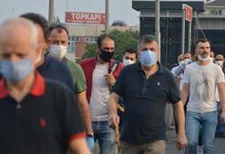 İstanbulda vatandaşlar güne maske ile uyandı