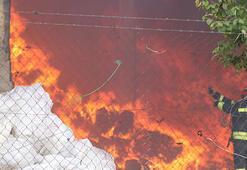 Son dakika: Gaziantepte fabrikada yangın çıktı