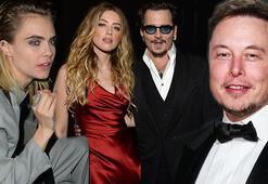 Johnny Depp-Amber Heard davasında şok iddia: Üçlü ilişki yaşıyorlardı