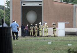 Meteoroloji 1. Bölge Müdürlüğü binasına yıldırım düştü