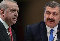 Son dakika Cumhurbaşkanı Erdoğandan sokağa çıkma yasağı talimatı Bakan Koca duyurdu