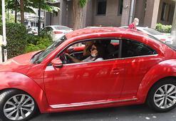 Melisa Uralın renkli arabası