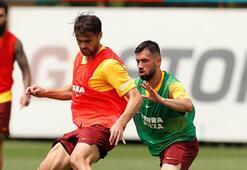 Galatasarayda Gaziantep FK maçı hazırlıkları devam ediyor