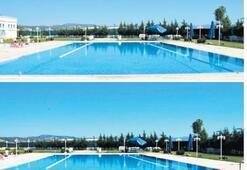 Muradiye'de yüzme keyfi başlıyor