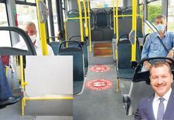 Ayağınla bas otobüs dursun