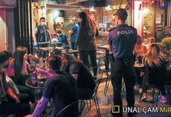 Karaköy'de 'yeni normal' denetimi