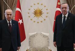 Erdoğan-Bahçeli görüşmesinin perde arkası Seçimin 2023'te olması için mutabık kaldılar