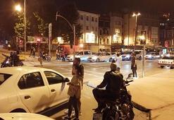 Haliç Köprüsünde hareketli dakikalar Polis ikna etti