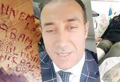 Son dakika haberleri... Kan donduran haber Nurtaç Canan kanıyla kendisini hastanelik eden kişinin ismini yazdı