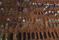 Son dakika... Corona virüs ezip geçti Brezilyada 1238 ölüm daha