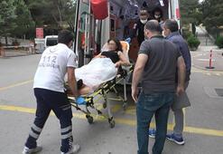 Bursada bir kışi tartıştığı kadını vurarak yol kenarına attı