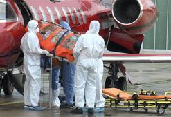 Corona virüs hastası Türk vatandaşı Zülfü Sezgin Rusyadan İstanbula getirildi