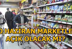 Marketler ve bakkallar bugün açık mı BİM, A101, ŞOK, Migros, Carrefour bugün açık mı