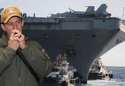 Son dakika... Kariyeri bitti Roosevelt uçak gemisi kaptanının göreve iade kararı iptal edildi
