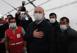 Son dakika: Bakan Soylu açıkladı 4 binin üzerinde çadır gönderildi...
