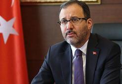 Bakan Kasapoğlu'ndan Yılmaz Vural'a 'Geçmiş Olsun' telefonu