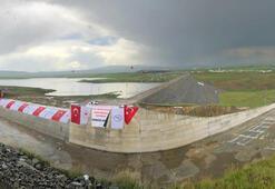 Tarıma can suyu olacak Kars Barajı açıldı