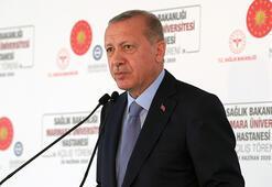 Son dakika Cumhurbaşkanı Erdoğan hastane açılışında konuştu: Yeni bir döneme giriyoruz