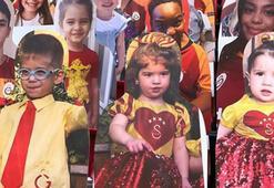 Fatih Terimin torunları Galatasaray tribününde