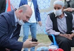 Cumhurbaşkanı Erdoğan, terör örgütü PKKnın katlettiği işçinin ailesiyle görüştü
