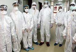 DHA görüntüledi Corona virüs savaşçıları...