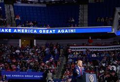 Trump bozguna uğradı Olay yaratan mitingde şok...