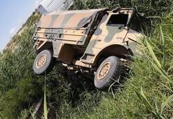Son dakika... Gaziantepte askeri araç devrildi Yaralılar var