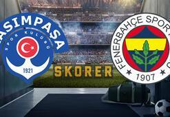Son dakika   Kasımpaşa-Fenerbahçe maçında 11ler belli oldu