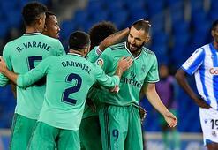 İspanya La Liganın yeni lideri Real Madrid