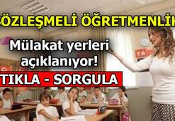 Sözleşmeli Öğretmen mülakat yeri sorgula : giris.turkiye.gov.tr/Giris/ | Sözlü sınavlar ne zaman başlıyor