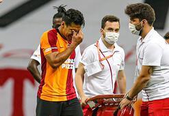 Galatasarayda Falcao şoku Başakşehir maçında...