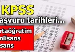 KPSS başvuruları ne zaman başlıyor, KPSS başvurusu nasıl yapılır