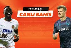 Aytemiz Alanyaspor - Trabzonspor maçı tek Maç ve Canlı Bahis seçenekleriyle Misli.com'da