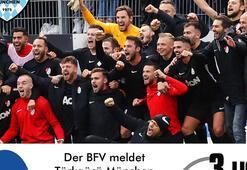 Almanyada Türklerin yönettiği takım 3üncü Ligde