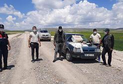 Sivasta, kaçak şahin avına 8 bin lira ceza