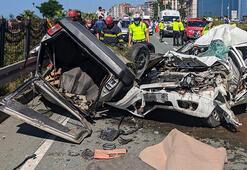 Rizede iki otomobil çarpıştı: Baba-oğul öldü, 1 ağır yaralı