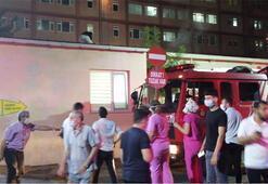 Son dakika haberi: İstanbulda hastanede korkutan yangın Kontrol altına alındı