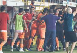 Alanyaspor - Trabzonspor maçında tarihe geçti