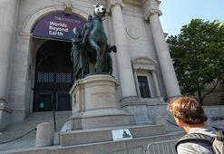 ABD Başkanının heykeli kaldırılıyor