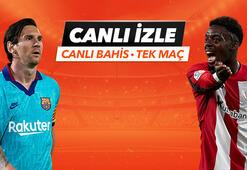 Barcelona - Athletic Bilbao maçı Tek Maç ve Canlı Bahis seçenekleriyle Misli.com'da