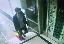 Sultangazide ayakkabı hırsızlığı güvenlik kameralarına yansıdı