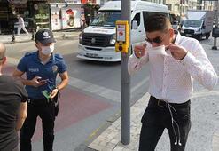 Kadıköyde maskesiz avı Polis kimseyi affetmedi...