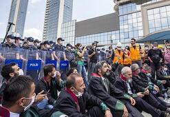 Son dakika Ankarada baro başkanlarının yürümesi için izin çıktı