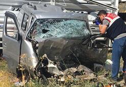 Karı koca trafik kazasında hayatını kaybetti
