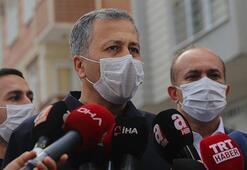 Vali Yerlikaya sel felaketinin yaşandığı sokakta açıklama yaptı