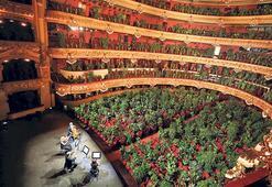 Puccini dinleyen bitkiler sağlıkçılara gidecek