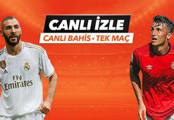 Real Madrid - Mallorca maçı Tek Maç ve Canlı Bahis seçenekleriyle Misli.com'da
