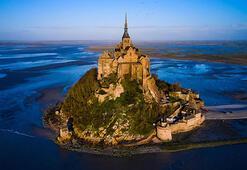 Fransada bir vaha Mont Saint Michel