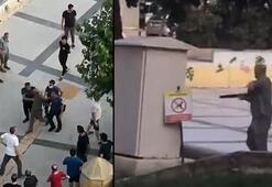 Balçova Belediyesi önünde çifte silahlı dehşet: Kardeşi işe alınmayınca ateş açtı
