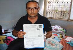 Mersin'de engelli bir vatandaş yaşam mücadelesi veriyor